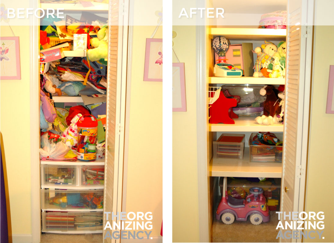 Lovely Toy Closet Makeover
