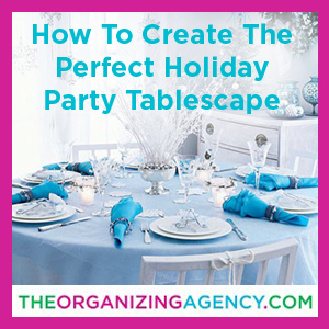 How to Create the Perfect Holiday Party Tablescape