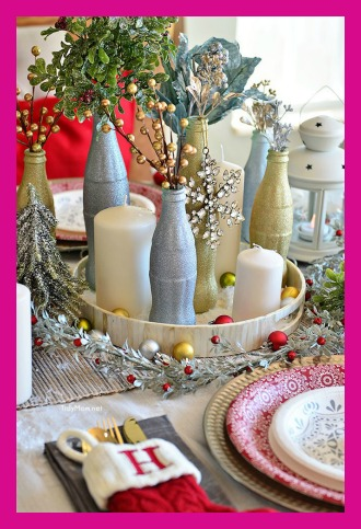 One of my favorite things to help clients with during the holidays is to create a festive holiday tablescape for their family gatherings or winter celebrations. Many consider creating decorative tablescapes is truly an art form, with an ultimate goal of wowing your guests. While many people spend a lot of money on professional floral displays and expensive decor, they're not required to have a beautiful table. You can pull together a variety of things you already own to transform your empty dinner table into a main, eye-catching focal point for your gathering. To help kickstart your imagination, we've pulled together a few ideas to inspire you.