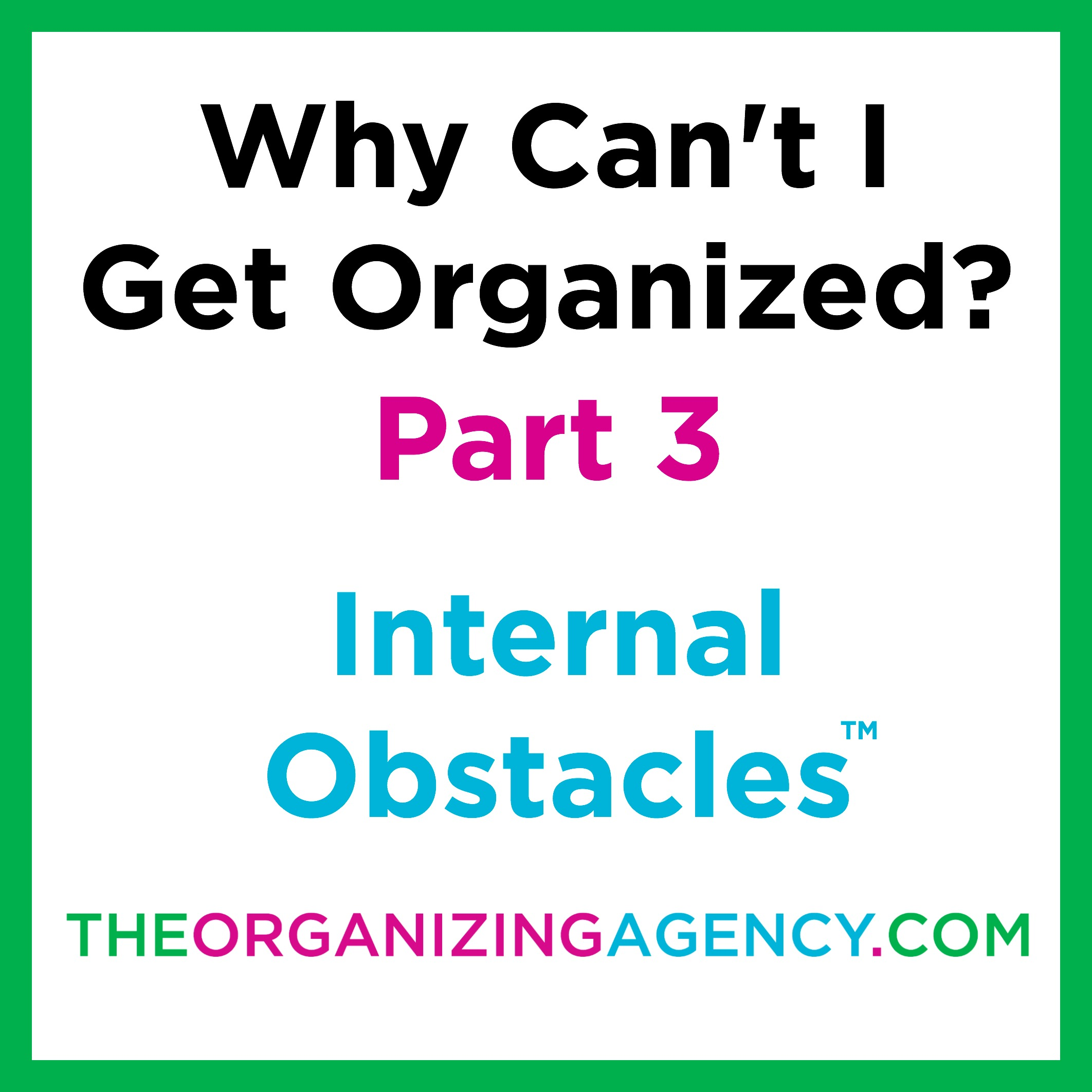 Internal Obstacles