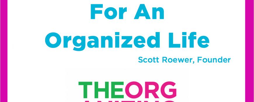 Organizing Mindset Mantra